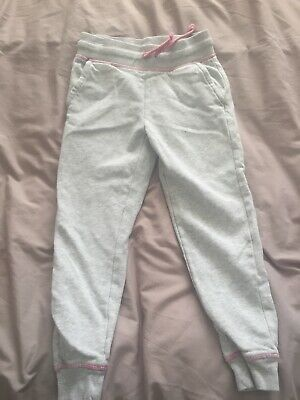 girls tracksuit bottoms from george size 7-8 years