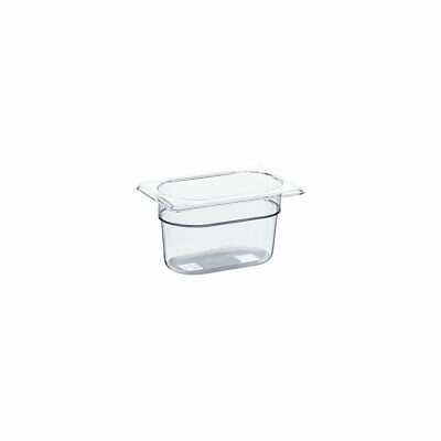 Gastronormbehälter GN Behälter NEW MODEL Polycarbonat GN 1/9 176x108x100mm 0,9 L