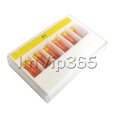 1 Box 60Pcs/1Box Dental Gutta Percha Points Tips F1 VIP