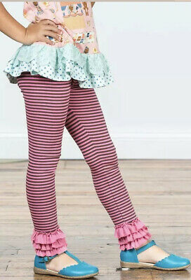 NWT Matilda Jane Girls Make Believe Friendly Mime Leggings Size 6 FactoryWrap