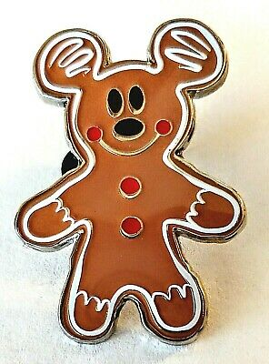 Disney Parks Christmas 2019 Holiday Treats, Gingerbread Mickey Mouse Pin