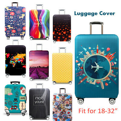 Travel Luggage Suitcase Cover Trolley Case Protector Scratch Dustproof Bag