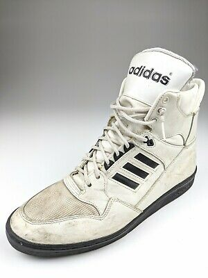 VINTAGE 70S 80S Adidas High Top Basketball Shoes Sneakers Sz