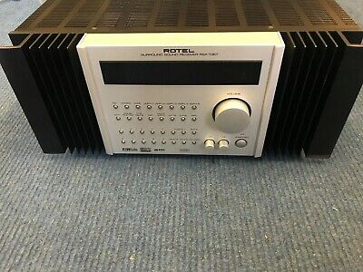 Rotel Rsx-1067 7.1 Ch.l Dts Dolby Digital Surround A/V Home Theater Receiver 067