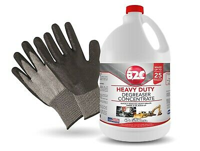 Concentrated Industrial Cleaner and Degreaser / Heavy Duty 1Gal.