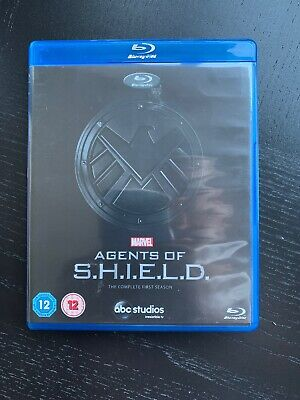 Marvel Agents of S.H.I.E.L.D. - Complete Season 1 - Blu-Ray 5-Disc Set - Shield