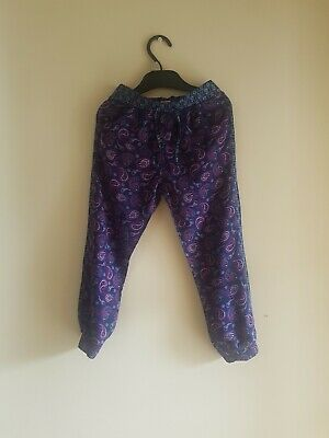 Girls hareem trousers age 4-5