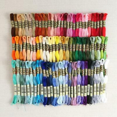 20 DMC Floss for Embroidery & Counted Cross Stitch--Mixture of Colors--NEW