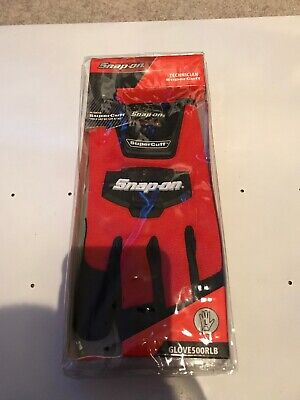 Snap On Super Cuff Gloves Large In Red NEW