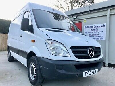 2012 Mercedes-Benz Sprinter 310 CDI High Roof SWB Panel Van with Extras!
