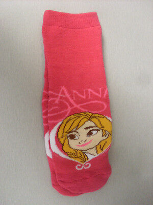 Girls Slipper Socks  ---  Disney Frozen Uk Size 6 - 8.5  New.