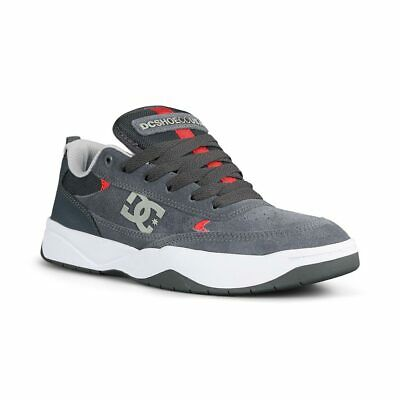 DC Shoes Penza - Grey / Grey / Red