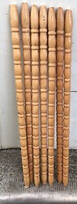8 Architectural Salvage Wood Turned Baluster Spindle Furniture Jinny Lind 24 3/8