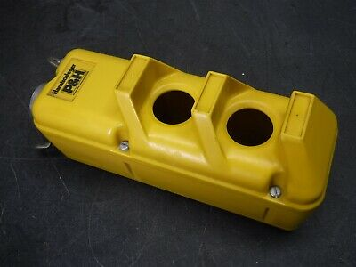 Used Nice Harnischfeger P&H  2 Button Hoist Pendant Case Q9