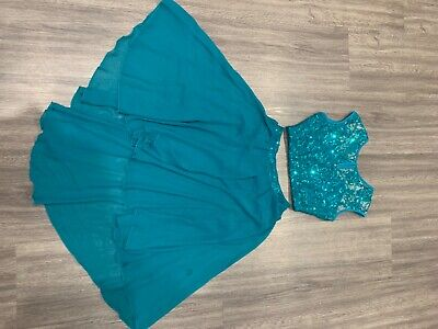 Ladies Dance Costume size 6 / 8 . Used once