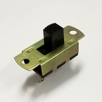 Defond SPST ON-OFF Slide Switch  6A @ 125V AC UL & CSA