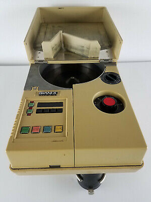 Brandt Coin Counter Model 749 - Runs and Sorts