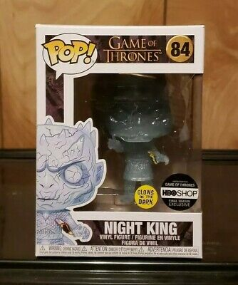 Funko Pop! Game of Thrones Knight King #84 HBO Shop Exclusive GITD w/Protector