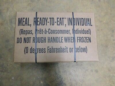 us military mre[meals ready to eat inspection date 11/19 meal plan B