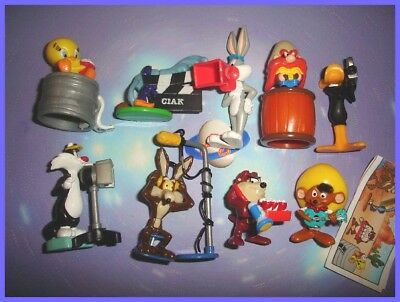 1 paper Collectible Complete Set 8 figures Looney Tunes Kinder Surprise 1997