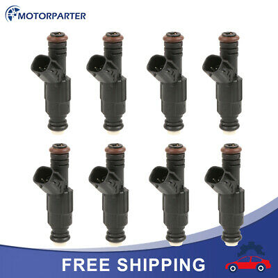 Bosch Upgrade Fuel Injector Set 8 for Dodge Ram 1500 Van 4.7L 5.2L 5.9L