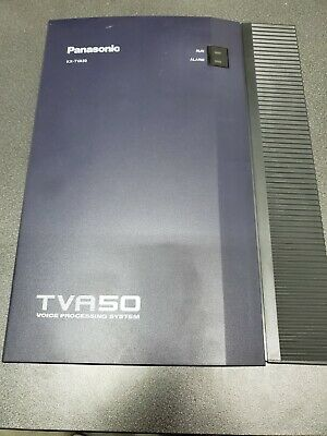 Panasonic KX-TVA50 Voice Mail Voice Processing System 2 Port 4 Hour /Power Cord