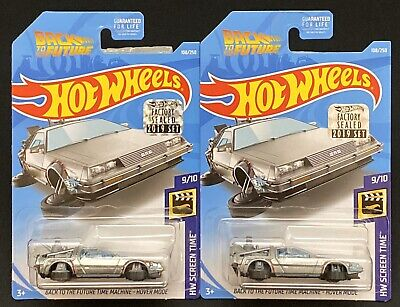 Hot Wheels Super Treasure Hunt Back To The Future Hover Mode Factory Sealed+Reg