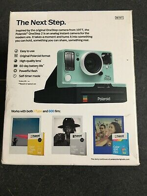 Polaroid OneStep 2 Viewfinder i Type Camera  Excellent Camera Only Mint Color
