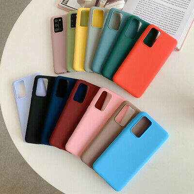 For Samsung Galaxy Note 10 Plus A70 M30S S10 S9 Soft Rubber Matte TPU Case Cover