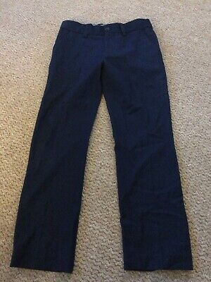 Next Smart Navy Trousers Size 8 Years