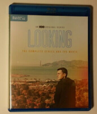 Looking: Complete Series+Movie (5-disc Blu-ray) no UV code or slipcase, LIKE NEW