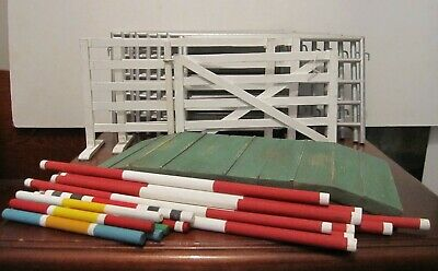 Breyer Model Horse Traditional scale Handmade Western Arena Prop Set