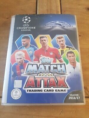 MATCH ATTAX CHAMPIONS LEAGUE 2016/17 ⭐90% complete