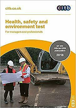 Health Safety And Environment Test For Managers And Professionals 2018 GT200 18