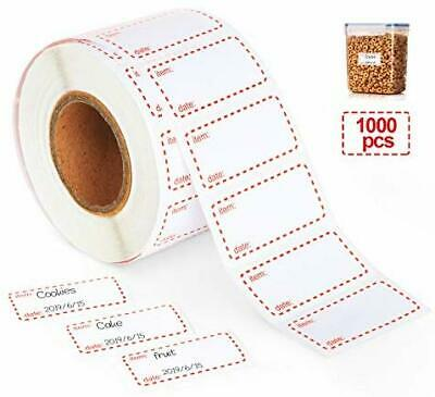 Use By Food Labels Date DY054 25x25mm 1000 Labels Box Removable Food Preparation