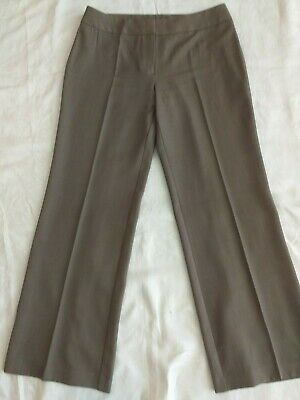 Marks And Spencer Size 14 Taupe Trousers