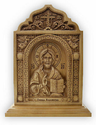 New Orthodox Wooden Carved Icon  God Almighty The perfect quality