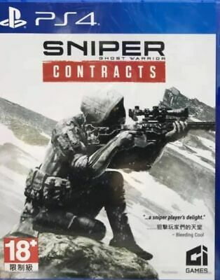 Sniper: Ghost Warrior - Contracts Asia Chinese/English subtitle PS4 BRAND NEW