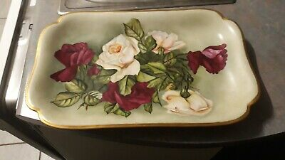 110 year old French/ Flemish  platter, appox 46 × 30 cm. Excellent condition