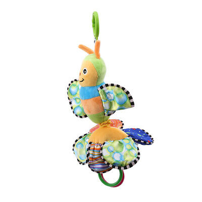 Colorful Bee Shape Toddler Appease Teething Plush Rattle Teether Children one