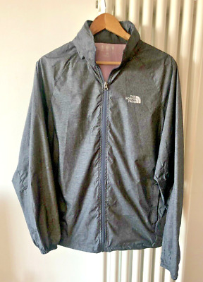 The North Face Grey Lightweight Rain & Wind Proof Jacket Size Xl 14/16 Coat