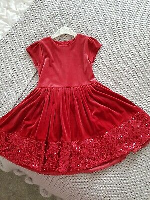 M&S Girls Christmas Party Dress
