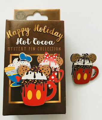 Disney Parks Happy Holiday Hot Cocoa Pin Mystery Box Mickey 2019