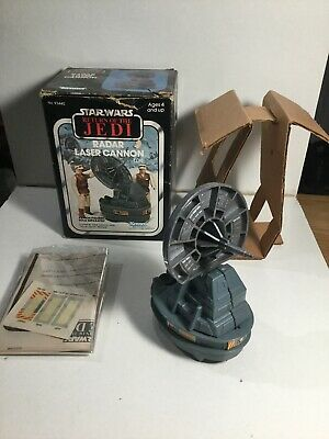 Vintage Star Wars Radar Laser Cannon In Its Original Box With Instructions 1982