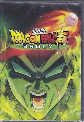 dvd DRAGON BALL SUPER BROLY IL FILM THE MOVIE nuovo 2019