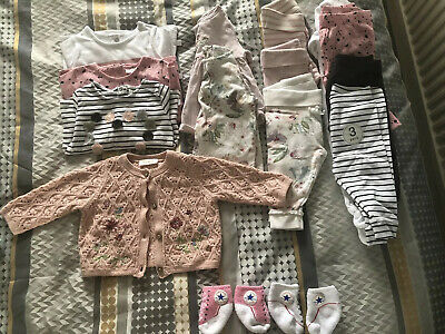 Next Baby Girl 0-3 Months Bundle Excellent Condition All