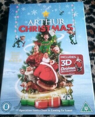 Arthur Christmas - Sealed DVD