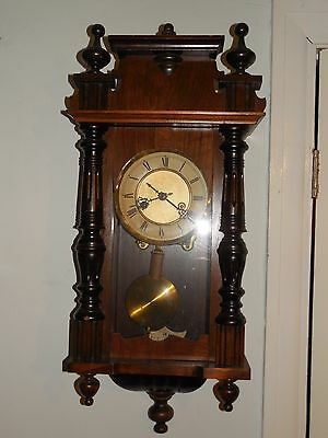 Small Size Antique Vienna Wall Clock   H 65 cm
