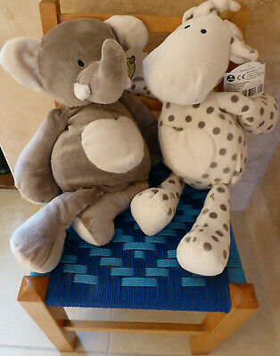 Elli And Raff Cuddly Soft Toy  For Baby Or Toddler