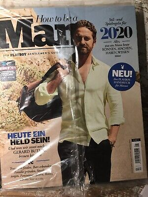 """Playboy Special Edition """"How To Be A Man"""" 01/2019 Neu"""